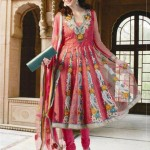 Fashion Of Frocks Designs 2013 For Girls 5