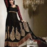 Fashion Of Frocks Designs 2013 For Girls 9