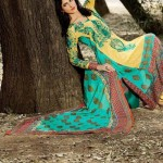 Firdous Embroidered Swiss Voil Latest Collection 2013 For Women 0010