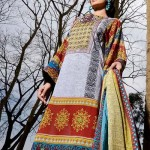 Firdous Embroidered Swiss Voil Latest Collection 2013 For Women 0012