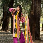 Firdous Embroidered Swiss Voil Latest Collection 2013 For Women 0014