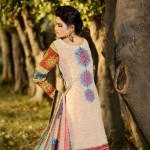 Firdous Embroidered Swiss Voil Latest Collection 2013 For Women 009