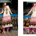 Firdous Printed Lawn Collection 2013 For Women 004