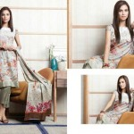 Firdous Printed Lawn Collection 2013 For Women 007