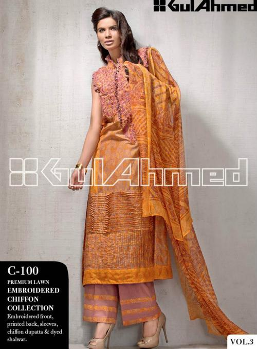 GULAHMED Lawn VOL 3 Collection 2013 For Women 009