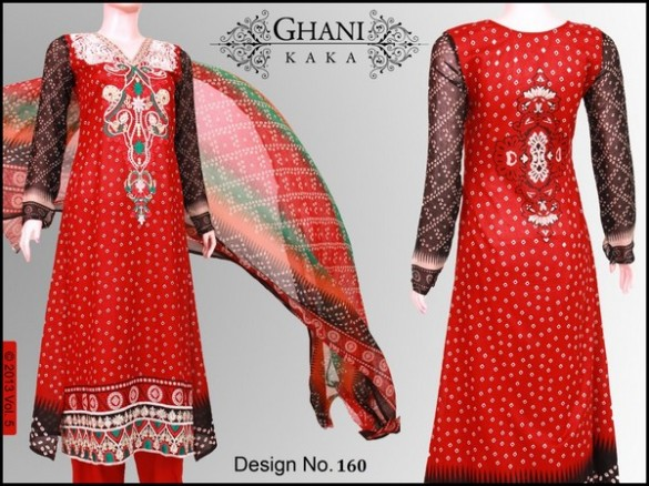 Ghani Textile Summer Collection 2013 Volume 003