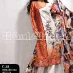 Gul Ahmed Latest Dresses 2013 For Women 005