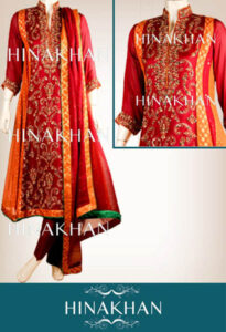 Hina Khan Latest Summer Collection 2013 For girls Women 01