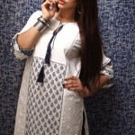 Khaadi White on White Summer Lawn Dress Collection 2013 For Ladies 004