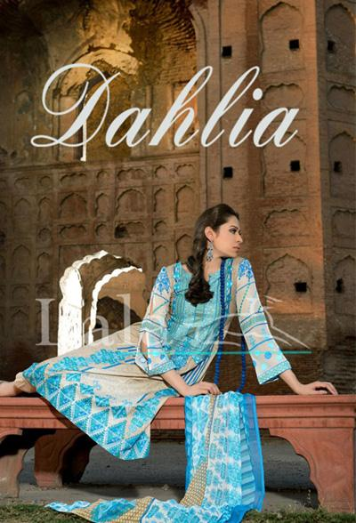 Lala textiles Dahlia Lawn Collection 2013 For Women 03