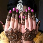 Latest Baridal Mehndi Collection 2013 For Women 003