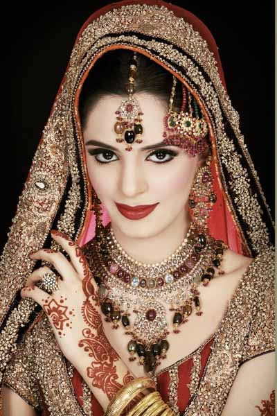 Bridal Makeup By Ather Shahzad Saubhaya Makeup