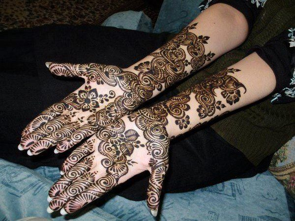 Latest Mehndi Designs For Bridal Hands