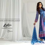 Libas Embroidered Lawn Collection 2013 By Shariq Textiles For Women 002