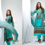 Libas Embroidered Lawn Collection 2013 By Shariq Textiles For Women 004