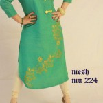 Mesh Ready Made Dresses Collection 2013 002