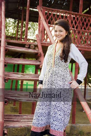NazJunaid Latest Summer Dresses Collection 2013 For women 01