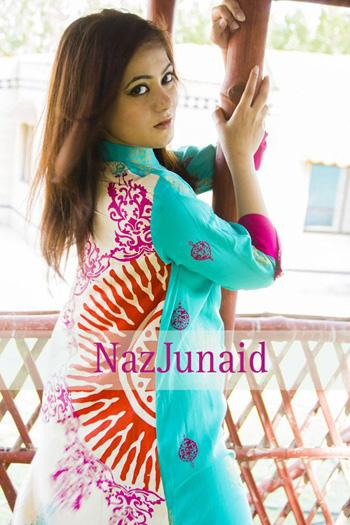 NazJunaid Latest Summer Dresses Collection 2013 For women 06