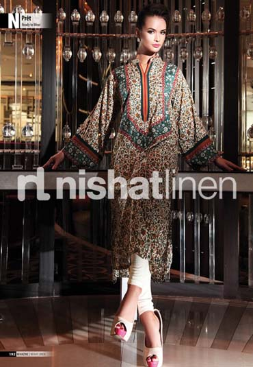 Nishat Linen SpringSummer Collection 2013 001