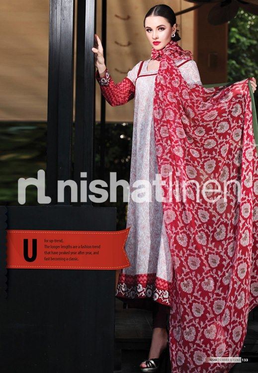 Nishat Linen SpringSummer Collection 2013 For Women 002