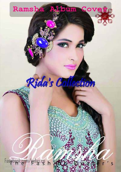 Ramsha Zari Collection 2013 By Rida For Women 001