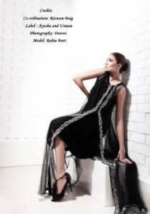 Stylish Party Wear Dresses Collection For Girls 2013 By Ayesha And Usman Qamar 06