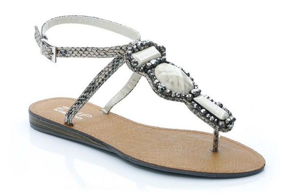 Flat Sandals 2013 Unze for Ladies