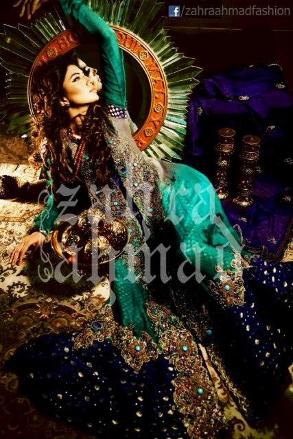 Collection 2013 Zahra Ahmad  For Women Bridal Wear
