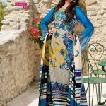 Zam Zam Chiffon Lawn Volume 2 By Dawood Collection 2013 For Women 003