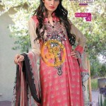 Zam Zam Chiffon Lawn Volume 2 By Dawood Collection 2013 For Women 004