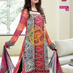 Zam Zam Chiffon Lawn Volume 2 By Dawood Collection 2013 For Women 008