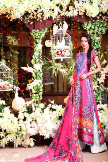 Latest Nomi Ansari Spring-Summer Lawn Prints 2013