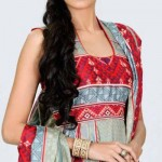 Latest Top Model Vaneeza Ahmad V Lawn Collection 2012-13