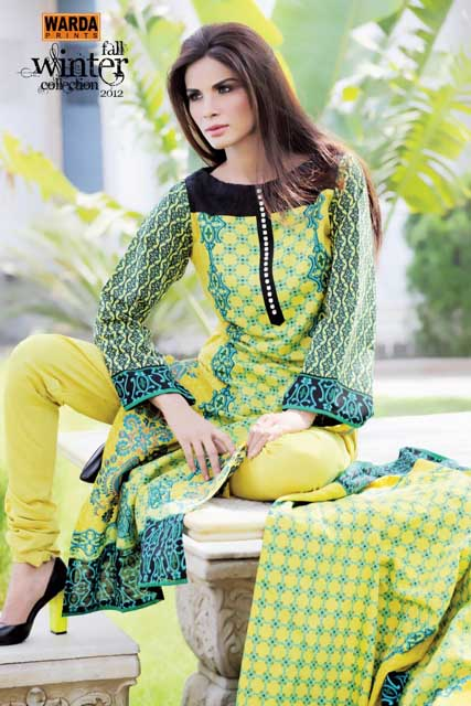 Latest Ready To Wear Warda Designer Winter Dresses
