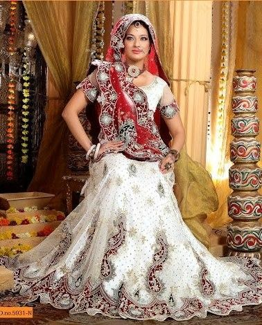 White Bridal Lehenga trends for women
