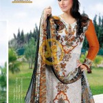 AALISHAN Chiffon Lawn Vol. 2 Collection 2013 For Women 002