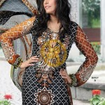 Aalishan Chiffon Lawn 2013 by Dawood Textile For Women 003