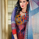 Aalishan Chiffon Lawn 2013 by Dawood Textiles For Women 002