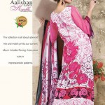 Aalishan Chiffon Lawn 2013 by Dawood Textiles For Women 004