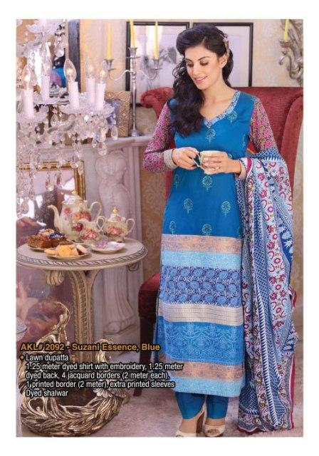 Criss Cross Lawn Alkaram Collection 2013 For Women