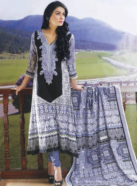 Anum Lawn Vol 2 Collection 2013 by Al Zuhaib For Women 002