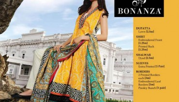 Spring Summer Bonanza Lawn Collection 2013 For Girls