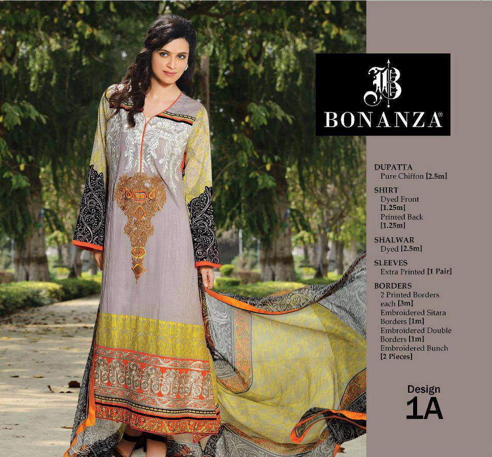 Bonanza Lawn Collection 2013 For Women 001