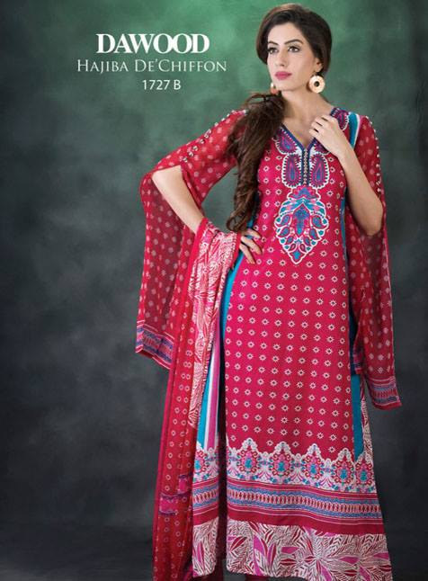 Dawood Hajiba De Chiffon Collection 2013 For Women 003
