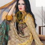 Dawood Hajiba De Chiffon Lawn Collection 2013 Vol 2 For Women 003