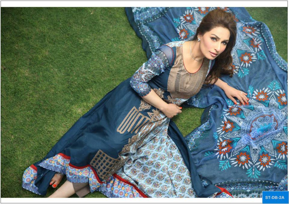 Deeba Collection By Shariq Textiles 2013 For Women 003