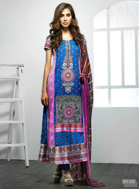 Feminine Limited Edition 2013 by Shariq Textiles For Women 001
