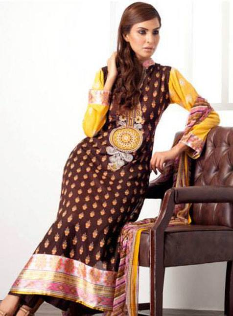 Feminine Limited Edition 2013 by Shariq Textiles For Women 002