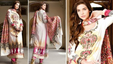 2013 For Women Summer Lawn Firdous Collection