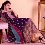Jawwad Ghayas Clothing Exclusive Party Wear Long Sleeveless Dresses 2013 For Ladies 004